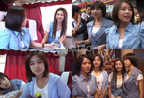 T-ara舞台挨拶表紙