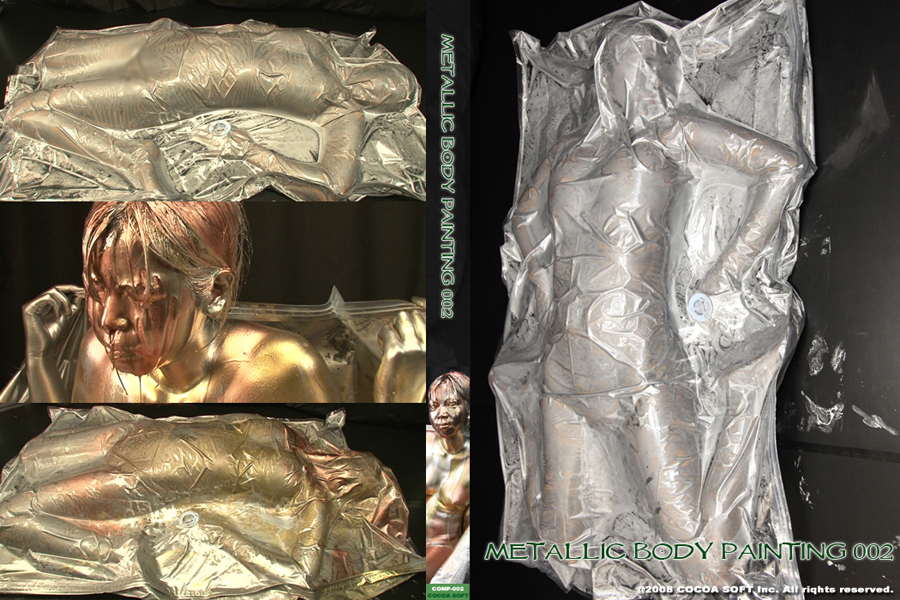 METALLIC BODY PAINTING 002