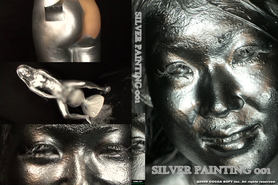 SILVER PAINTING001