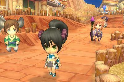 晴空物語 MMO オンラインゲーム