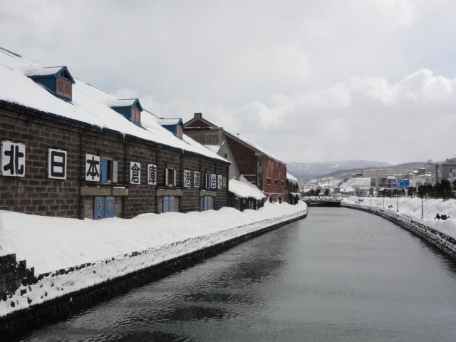 2013年3月11日 小樽の運河