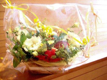 お花、ありがとうございました!