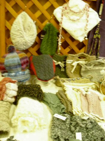 編み物作品