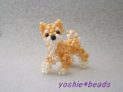 ビーズ 柴犬