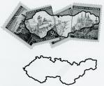 チェコスロヴァキア地図