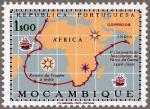 バスコダガマ生誕300年(モザンビーク)