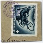 スイスの軍事切手(銀輪部隊)