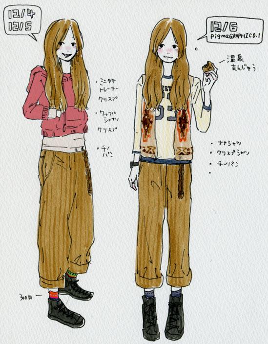 洋服日記101206