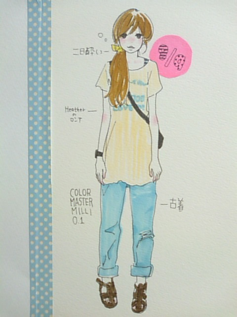 洋服日記100809