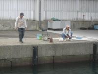 H231011能生漁港で釣り