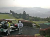 H231012懇親ゴルフの眺め