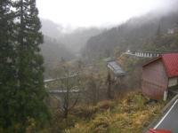 H231111小谷温泉山田旅館からの眺め