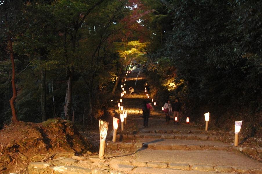 神護寺の参道1