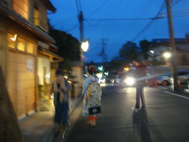 夕方の祇園