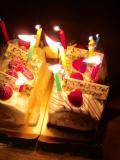 100703カメ誕生会ケーキ