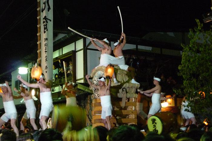起し太鼓 古川祭り