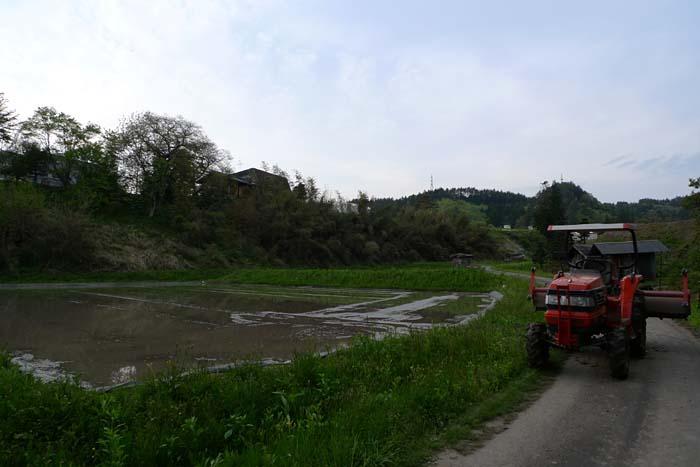 農繁期 代掻き 2012