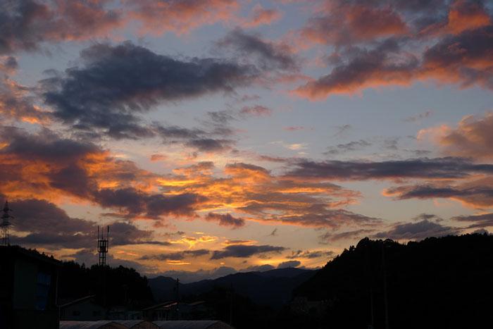 夕陽 松之木町