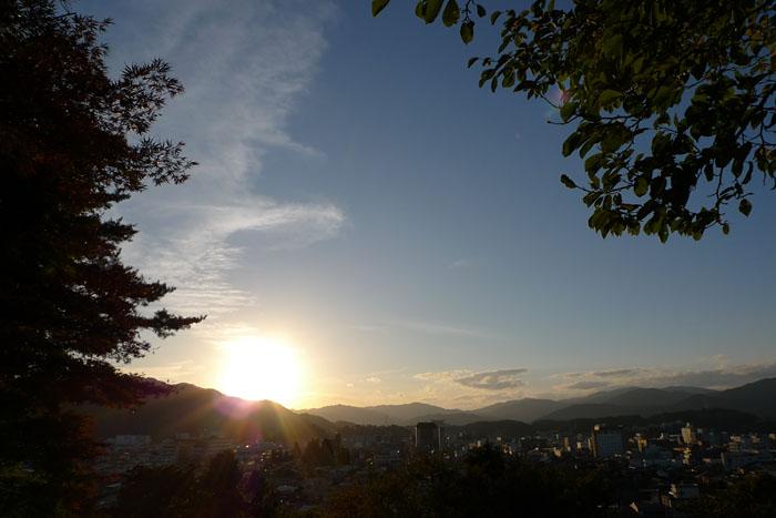 夕景 ひだ 高山