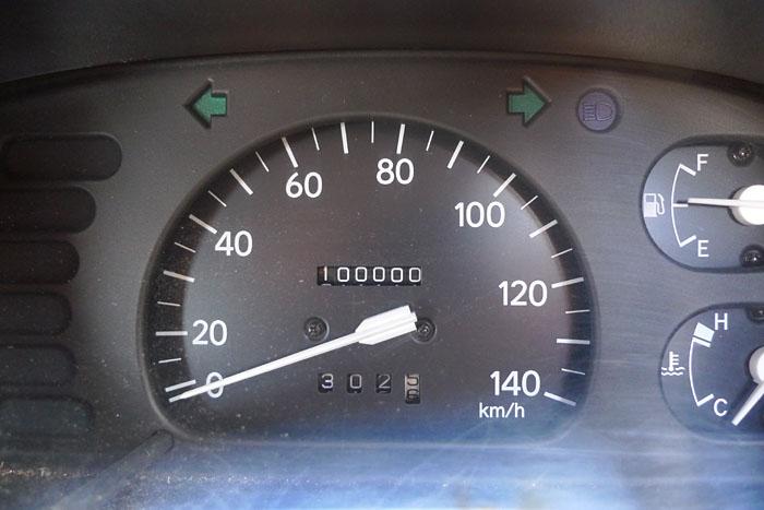 100,000km 軽バン
