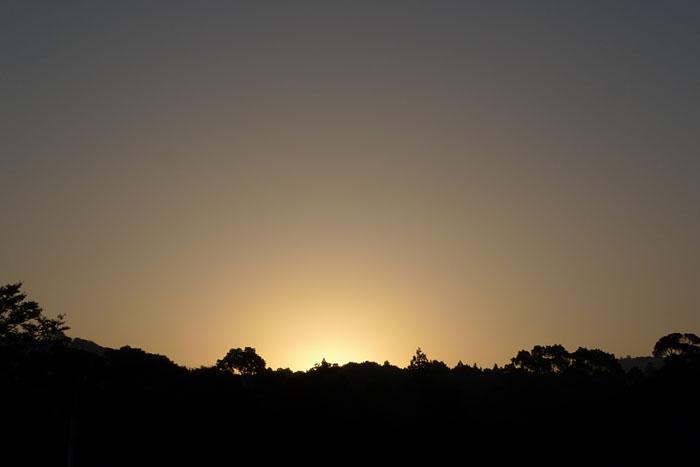 日の出 伊勢神宮 内宮
