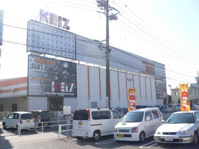 「KEIZ岐阜六条店」(P=720台、S=288台、総台数=1008台)