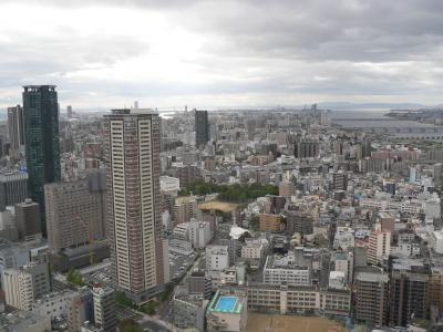 ビルが立ち並ぶ大阪の街。東北の街もいつの日かこのような姿に戻ってほしい