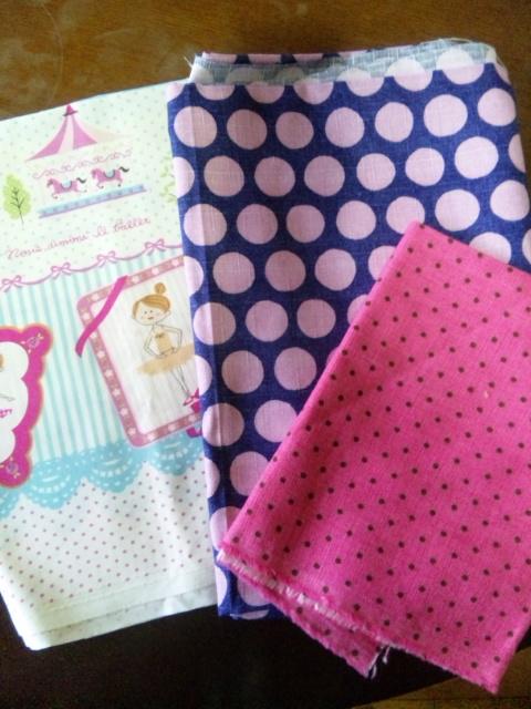 3種類の布