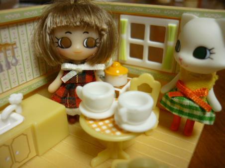 お茶する?