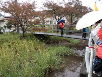 田松川谷中分水界