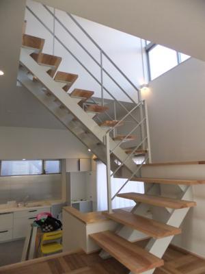ステンレス階段
