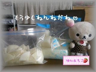 ちこちゃん日記★114★べったら漬け風でしゅ♪-7