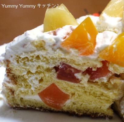 トロピカルケーキ♪