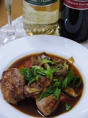 ビニャ マイポ スペアリブの韓国風すき焼き煮♪