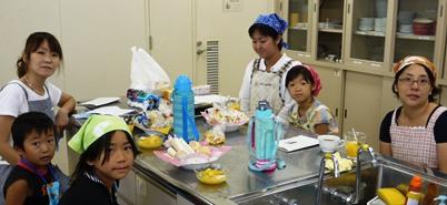 亥の子谷クッキング 20110730参加者4