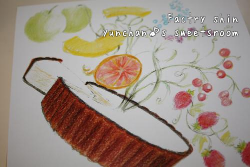 FACTORY Shin チーズケーキ イラスト