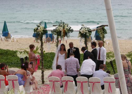 プーケット結婚式2