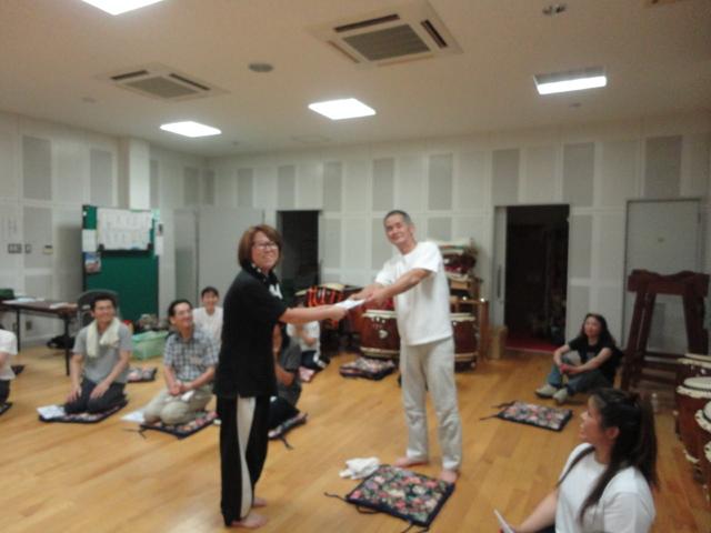 丹波の和太鼓教室