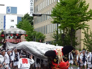 2012ながの祇園獅子