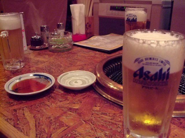 20091413 青井先生と焼肉