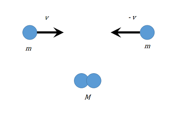 相対論的な非弾性衝突の思考実験...