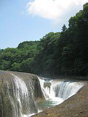 吹割れの滝②