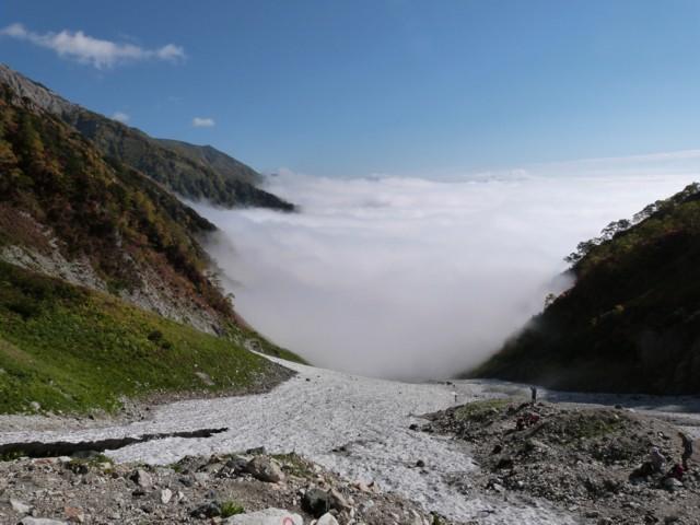 9月27日 雲から抜けた