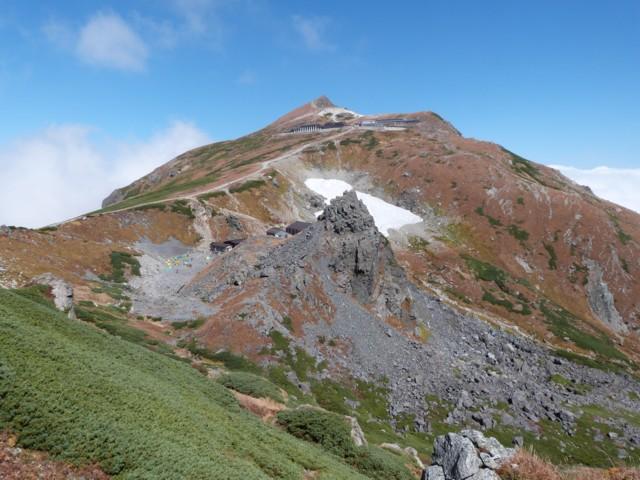 9月27日 白馬岳