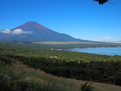 山中湖パノラマ台からの眺め
