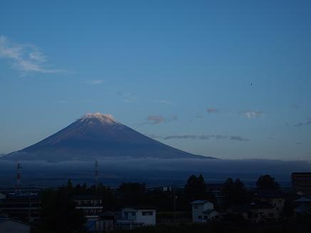 2012/09/12 初冠雪