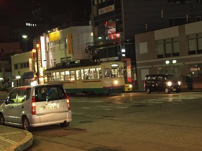 路面電車の走る街