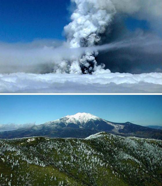 140928 Volcano Ontake-san explosion 02