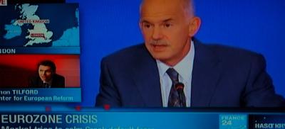 Papandreu prime Minister a