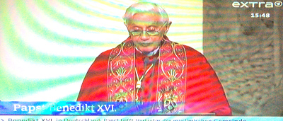 Papast Benedikt 16   J A  Ratzinger